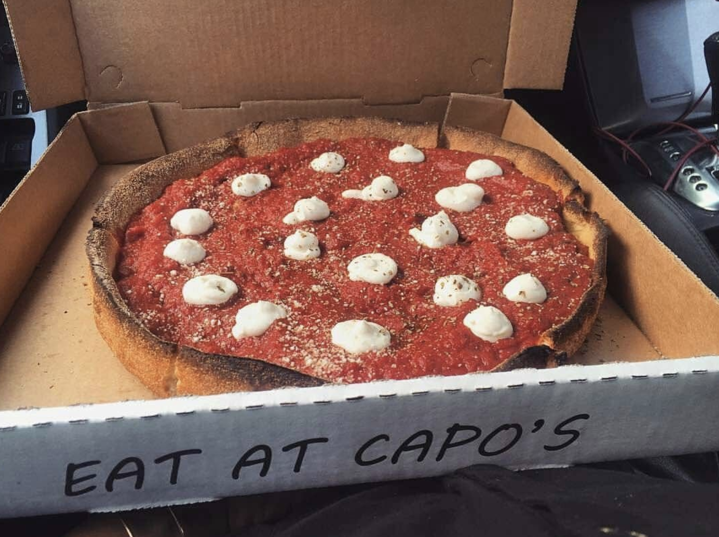 Where is the best pizza in san francisco? Capos