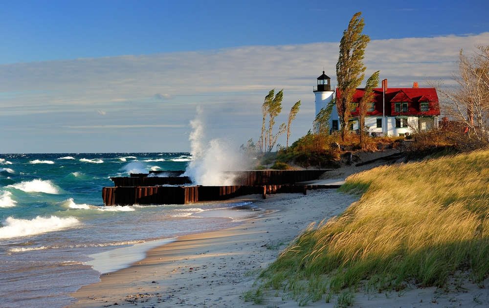 romantic places in Michigan to visit for the weekend