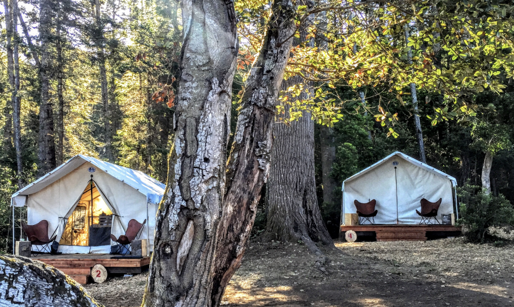 best glamping in california