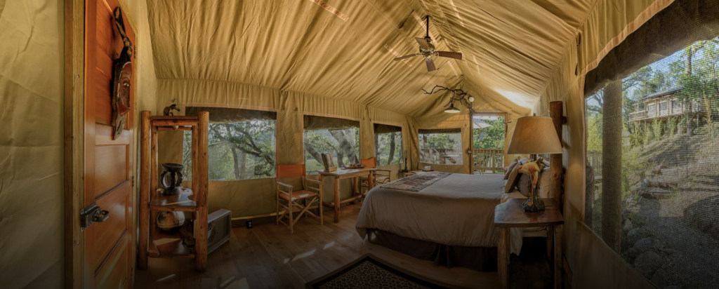 best glamping locations in cali