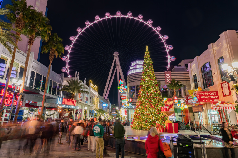 coolest month in las vegas