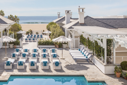 luxury beachfront hotels in California