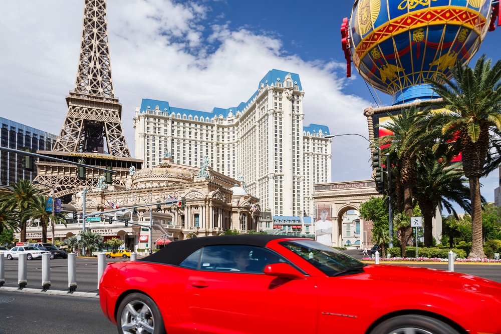 reasons to rent a car in Las Vegas